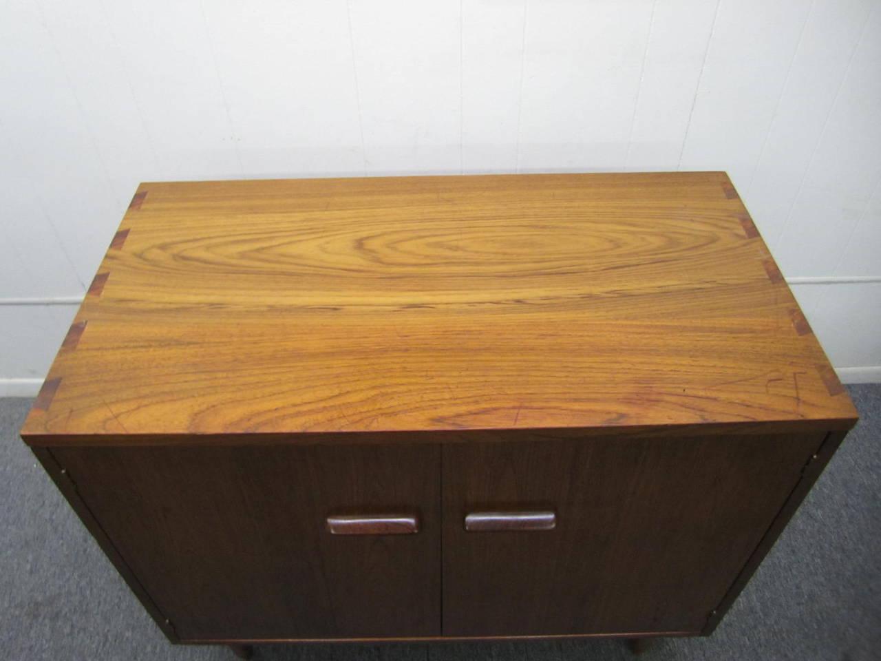 Rare Lane Acclaim Cabinet Caned Hutch, Mid-Century Modern 8
