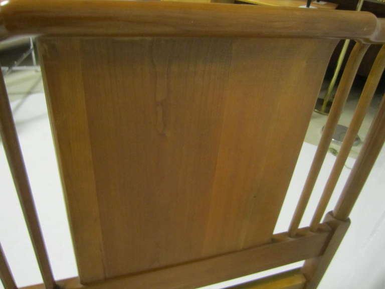 Lovely John Widdicomb Light Walnut Headboard Mid-Century Modern For Sale 4