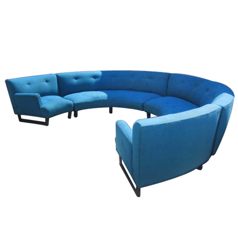 Circular Sectional Sofa At 1stdibs