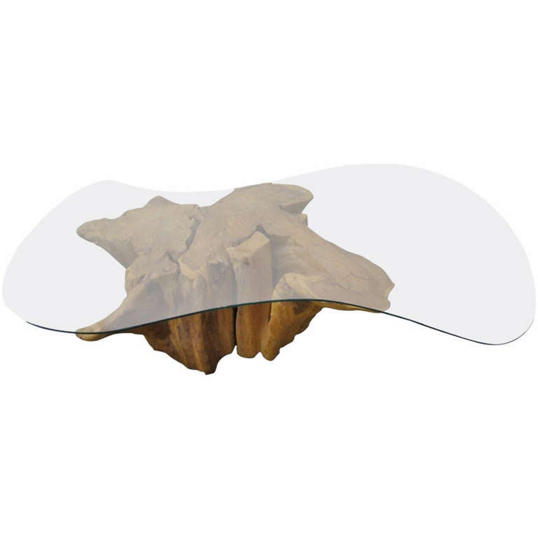 Magnificent Michael Taylor Style Tree Root Table Mid-Century Modern