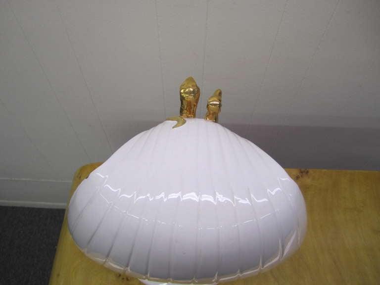 Egyptian King Tut Italian Ceramic Sculpture Bust Hollywood Regency For Sale 5