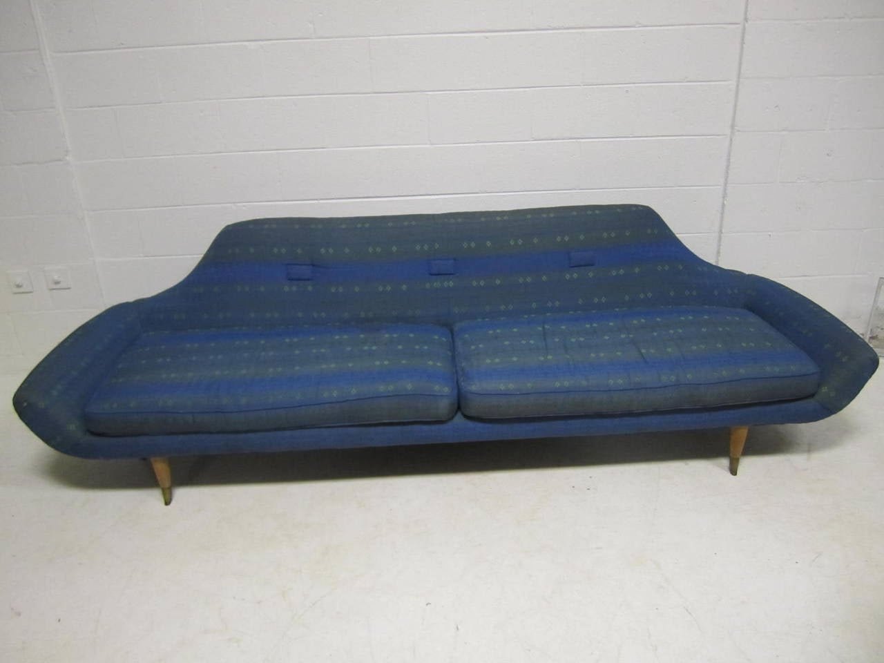 Space Age Furniture Fabulous Space Age Karpen Style Gondola Sofa Mid Century Modern