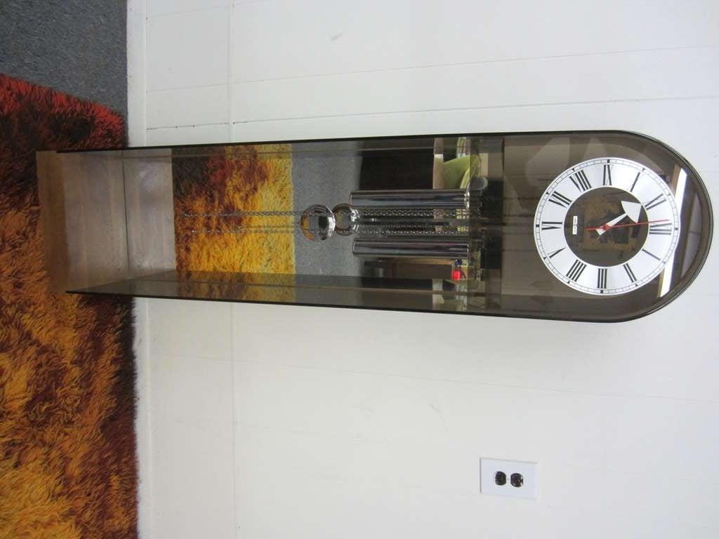 Wonderful Howard Miller George Nelson Grandfather Clock Mid Century Modern At