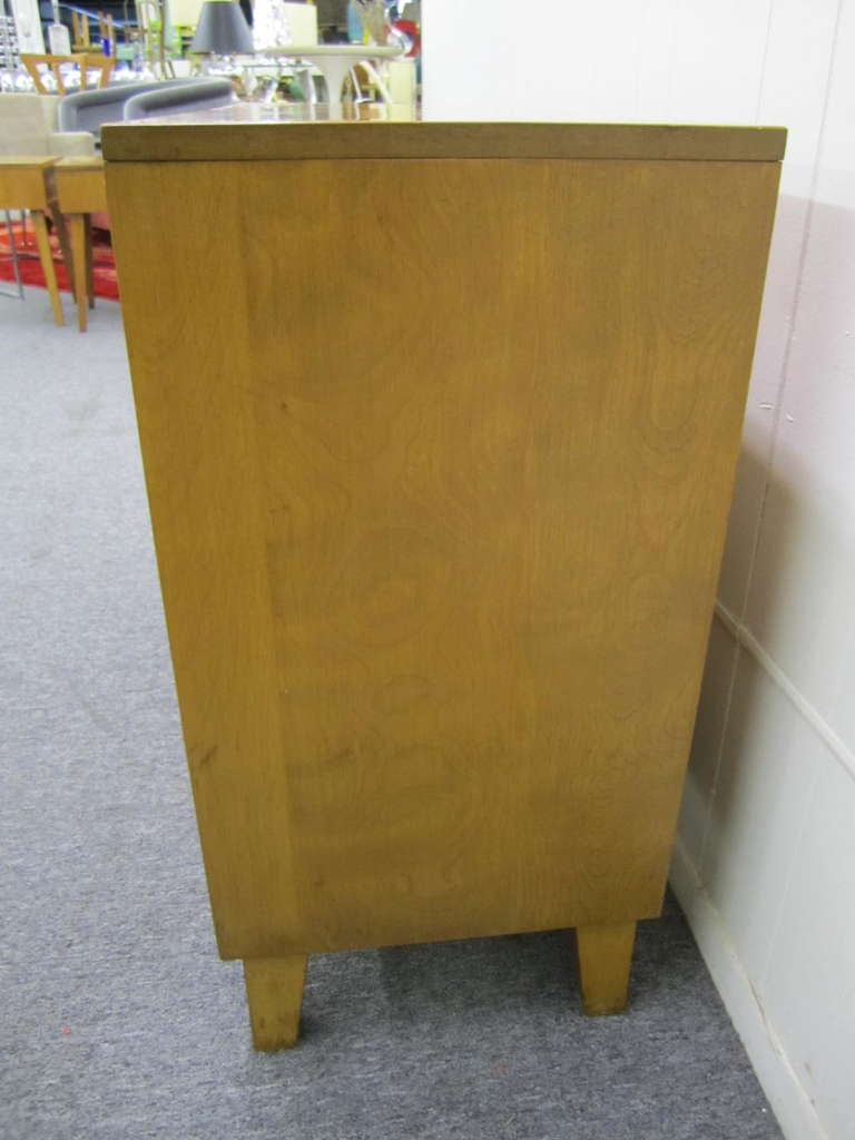 7 Drawer Solid Maple Conant Ball Dresser, Russel Wright, Mid-Century Modern 7