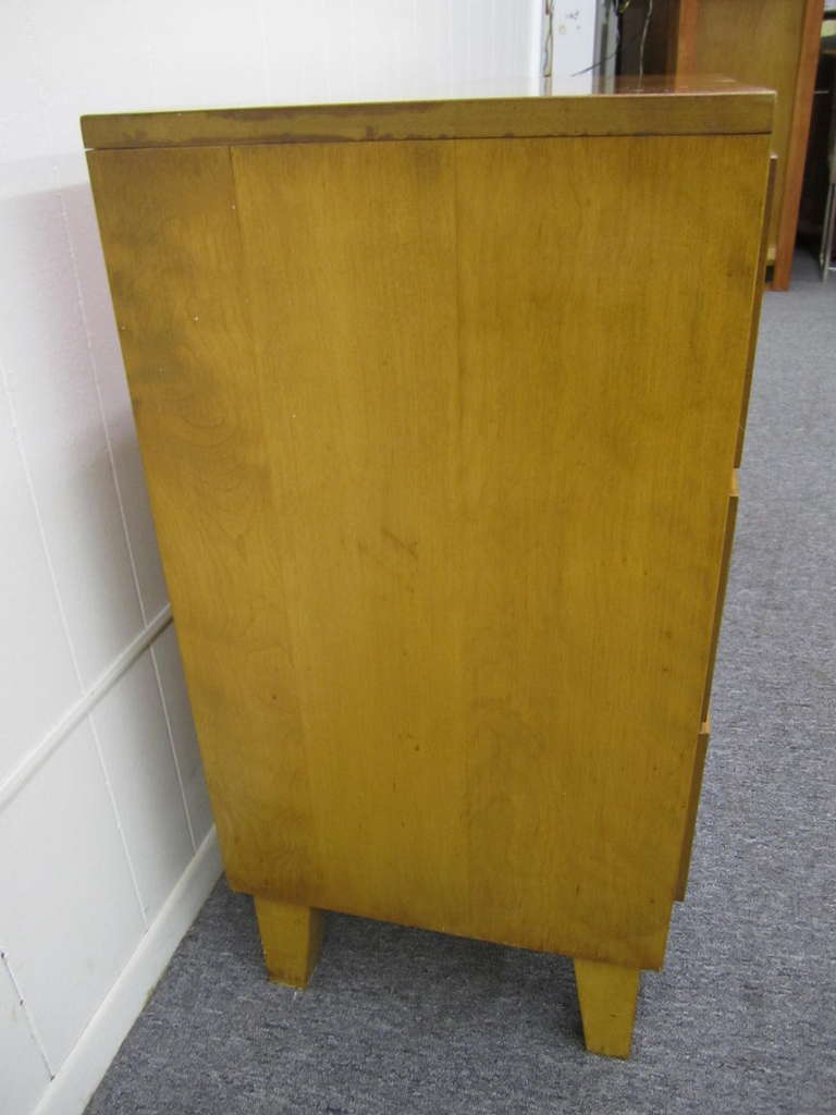 7 Drawer Solid Maple Conant Ball Dresser, Russel Wright, Mid-Century Modern 6