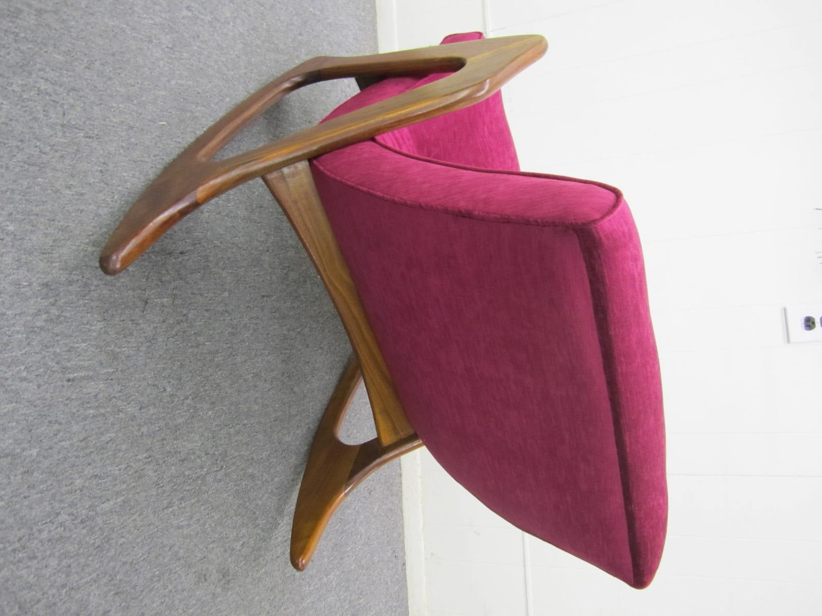 ... Rocking Chair for Craft Associates Mid-Century Modern For Sale at