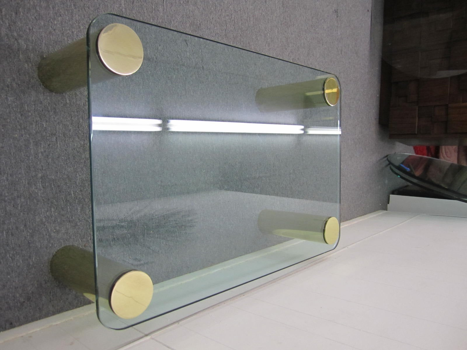Fabulous Pace Collection Brass and Glass Coffee Table, Mid-Century Modern 6