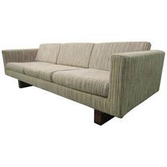 Rare Signed Harvey Probber Floating Sofa, Mid-Century Modern
