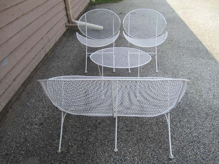 Maurizio Tempestini Mid century modern Patio Bench Chair