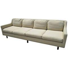 Lovely Dunbar Style Four-Seater Sofa, Mid-century Modern