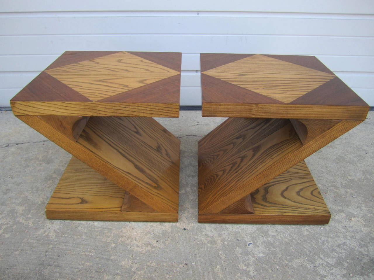 Excellent Pair of Lane Z End Side Tables Mid-Century Modern For Sale 4