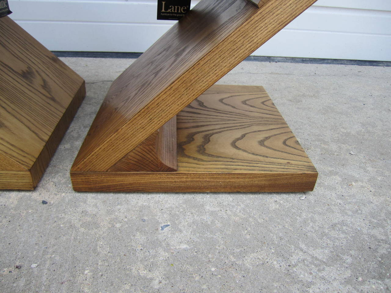 Excellent Pair of Lane Z End Side Tables Mid-Century Modern In Excellent Condition For Sale In Pemberton, NJ