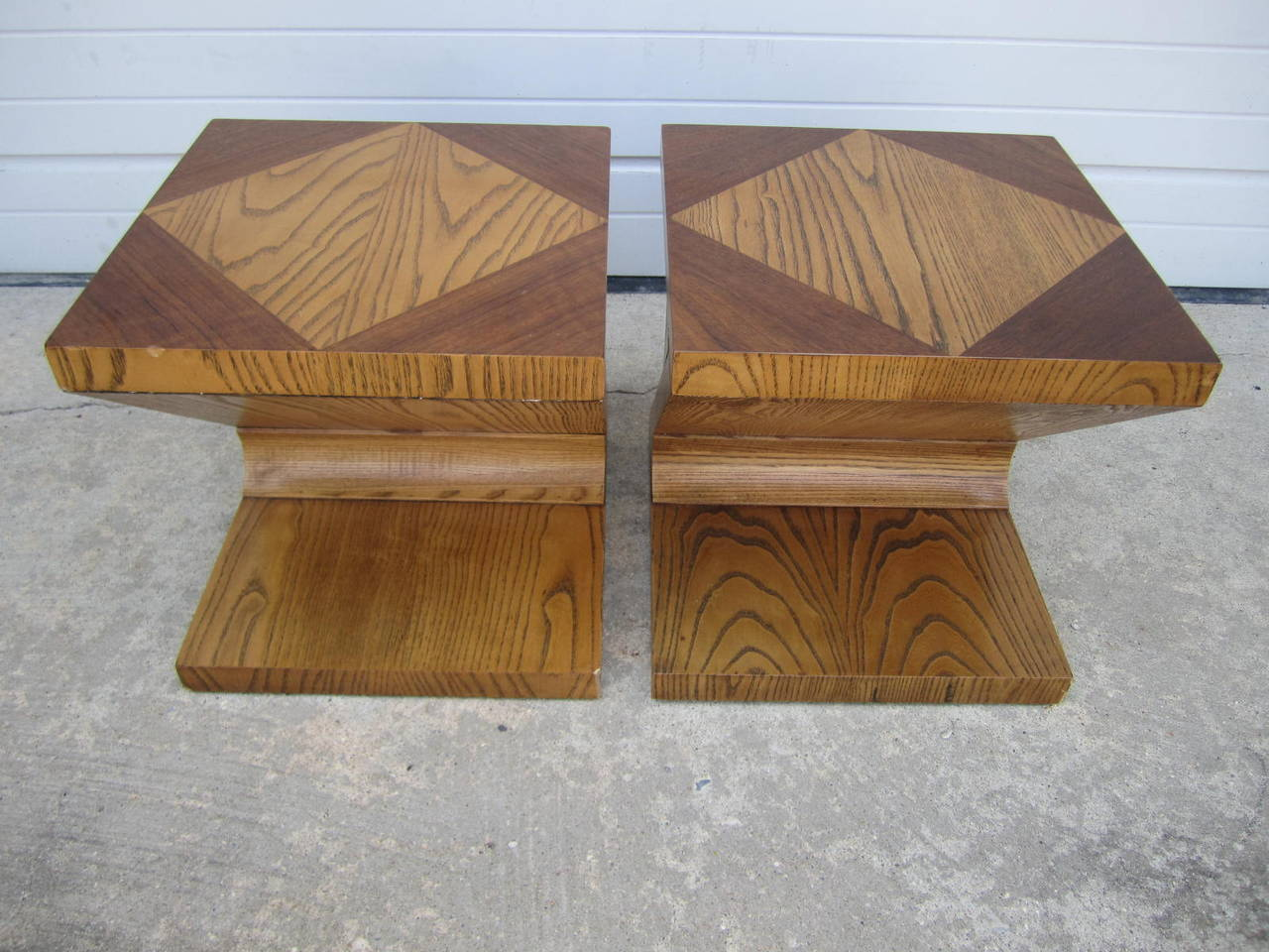 Excellent Pair of Lane Z End Side Tables Mid-Century Modern For Sale 2