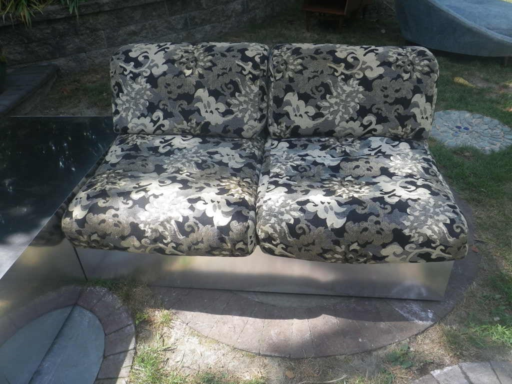 Upholstery Thayer Coggin 3 Piece Sectional by Milo Baughman Mid-Century Modern For Sale