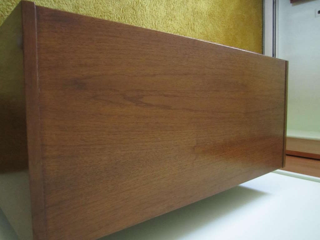Mid-20th Century American Martinsville High Boy Walnut Dresser Chest Mid-century Modern For Sale