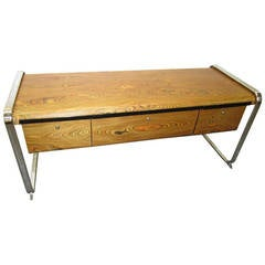 Exotic, Mid-Century Modern Herman Miller Credenza by Peter Protzman
