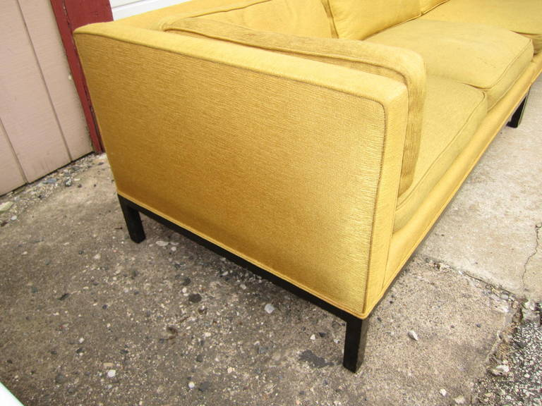 Mid-Century Modern Fabulous 2-Piece Edward Wormley Dunbar Long Low Mid-Century Sofa For Sale
