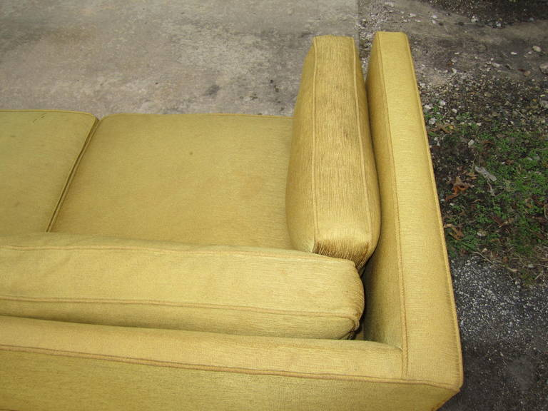 Wood Fabulous 2-Piece Edward Wormley Dunbar Long Low Mid-Century Sofa For Sale