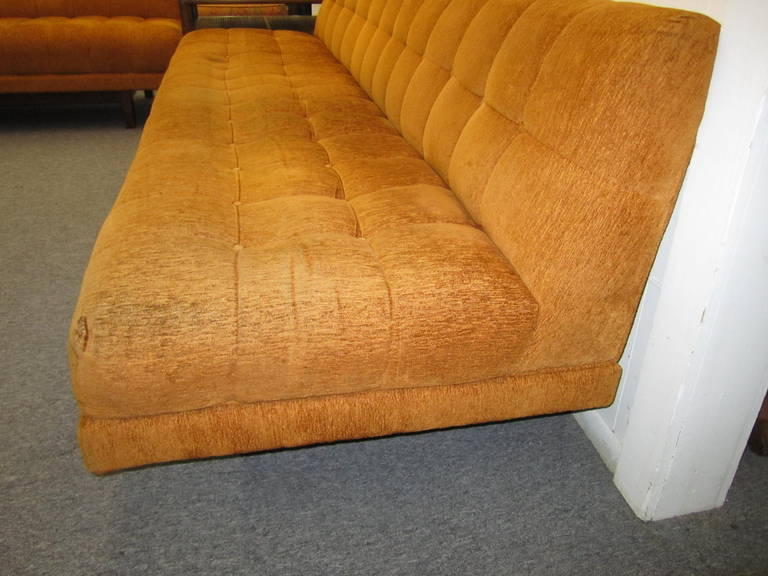 Stunning Harvey Probber style 2 Piece Sectional Sofa Mid-century Modern For Sale 3