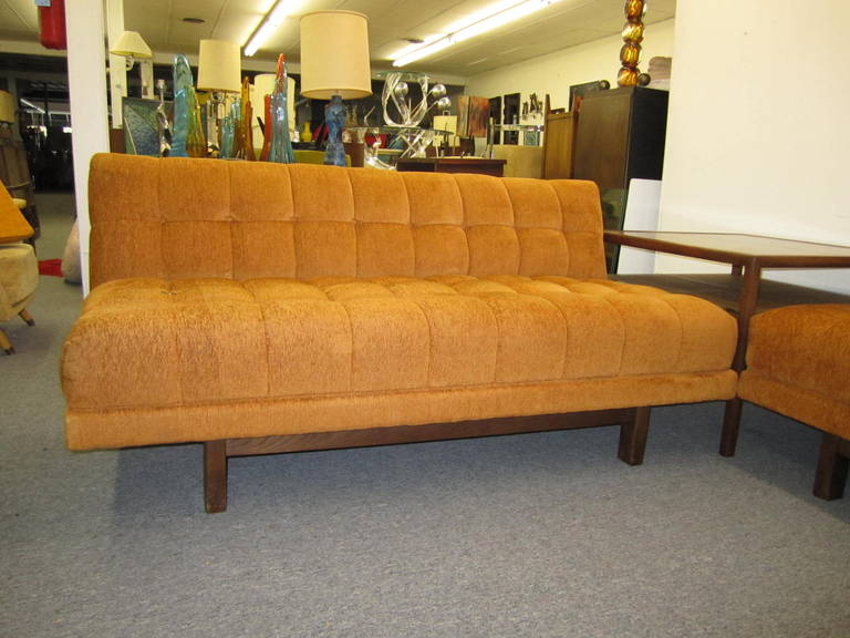 American Stunning Harvey Probber style 2 Piece Sectional Sofa Mid-century Modern For Sale