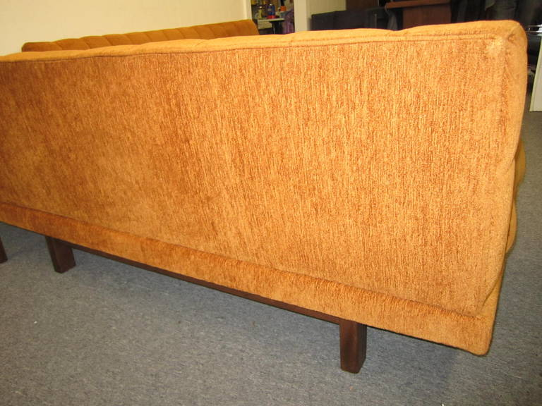Upholstery Stunning Harvey Probber style 2 Piece Sectional Sofa Mid-century Modern For Sale