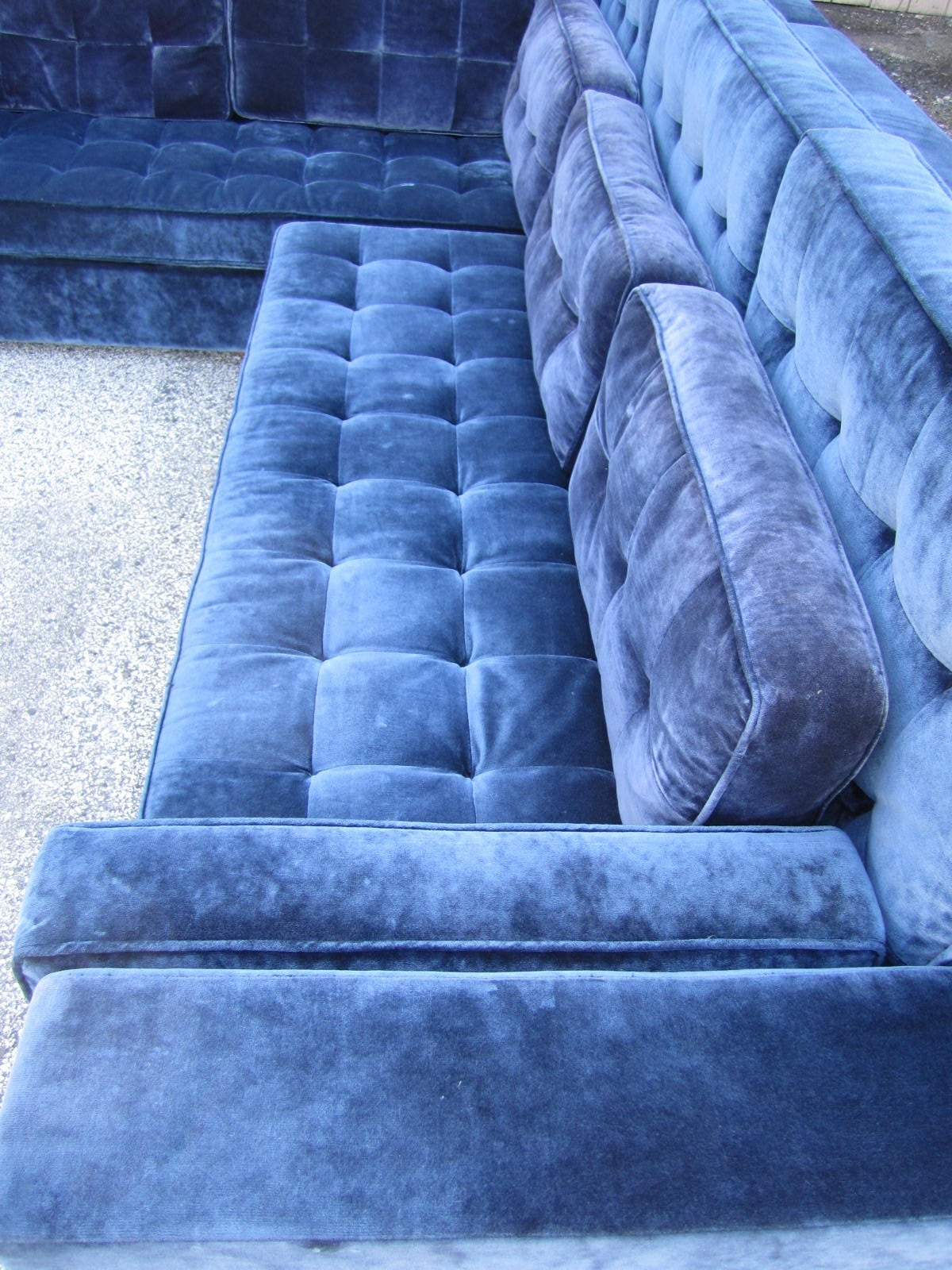Upholstery Stunning Large-Scale Harvey Probber Style Sectional Sofa, Mid-Century Modern For Sale