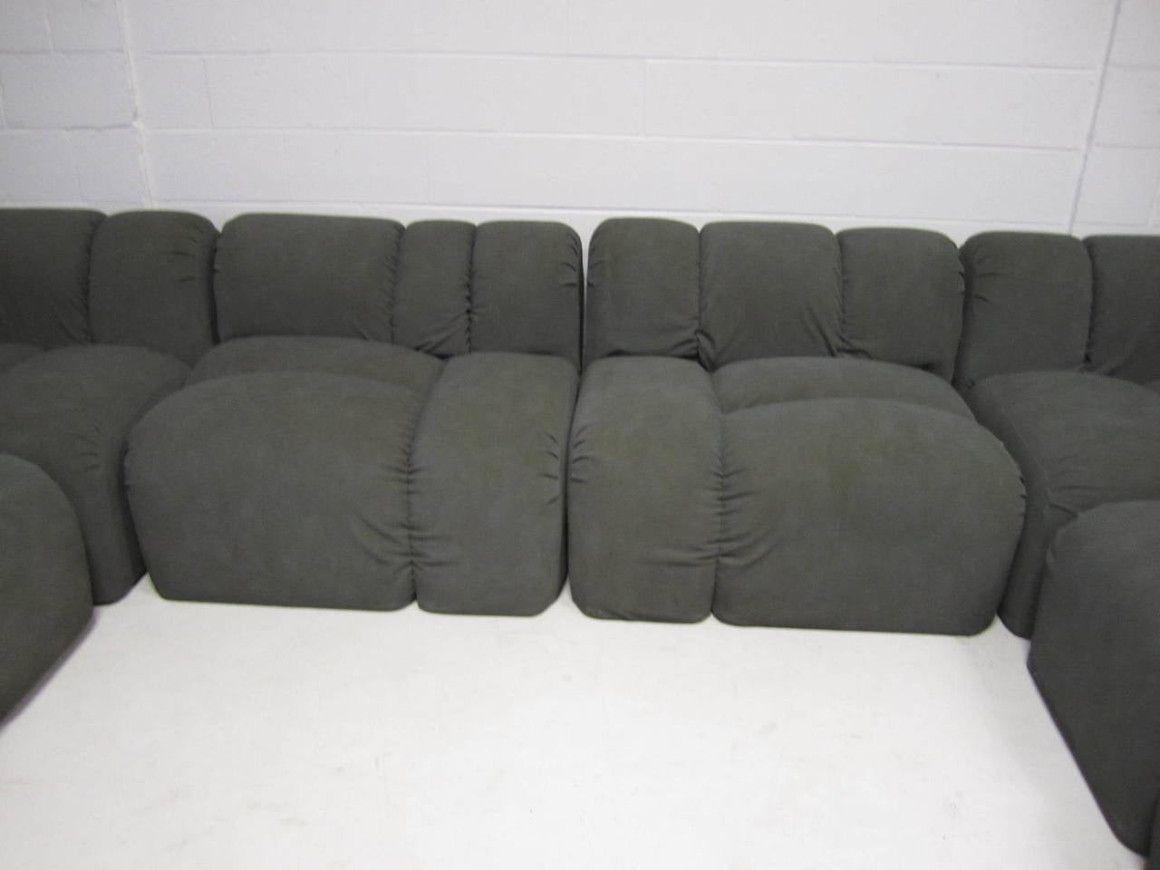 Mid Century Modern Seven Piece Signed Paul Evans Sectional