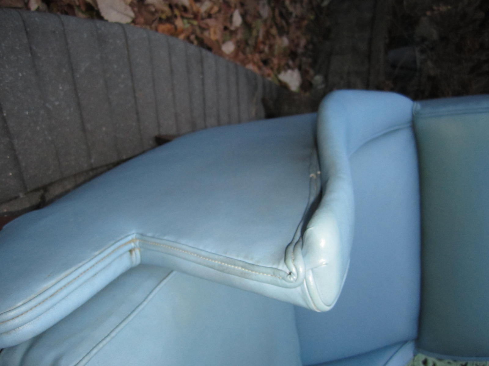 Exciting Mid-Century Modern Lounge Chair with Ottoman For Sale 3