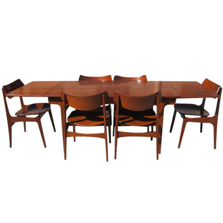 6 Funder Schmidt Madsen Chairs Teak Extension Table Danish  : XXX943213478456821 from 1stdibs.com size 768 x 768 jpeg 37kB