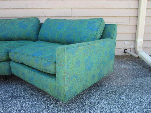 American Stunning 2 Piece Harvey Probber Sectional Sofa Mid-century For Sale