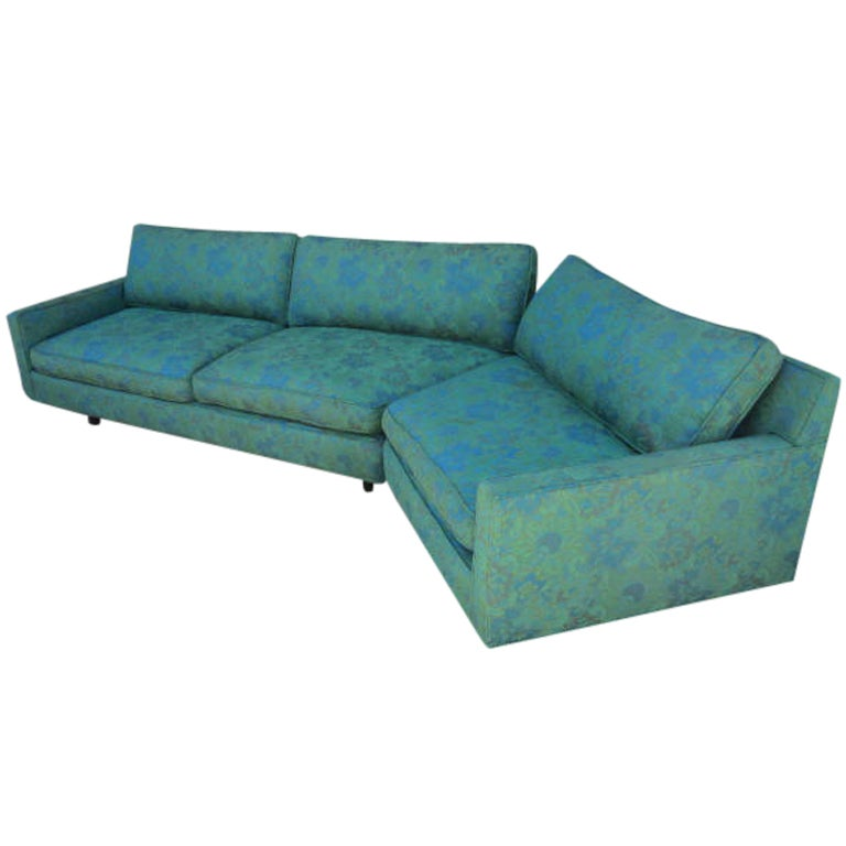 Stunning 2 Piece Harvey Probber Sectional Sofa Mid-century For Sale