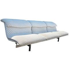 Saporiti Italia Wave 3 Seater Sofa Mid-Century Modern