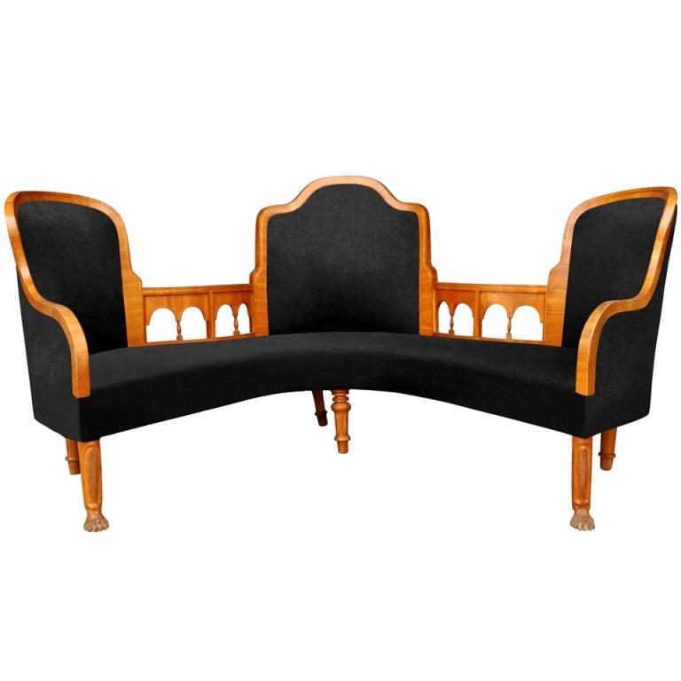 Salon Furniture, 19th. Century Sweden 1