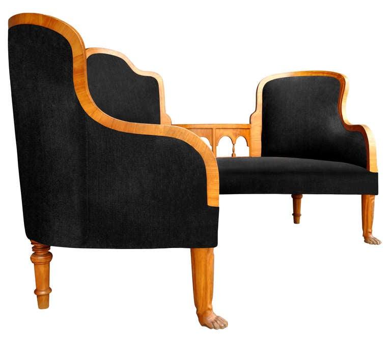 Salon Furniture, 19th. Century Sweden 4