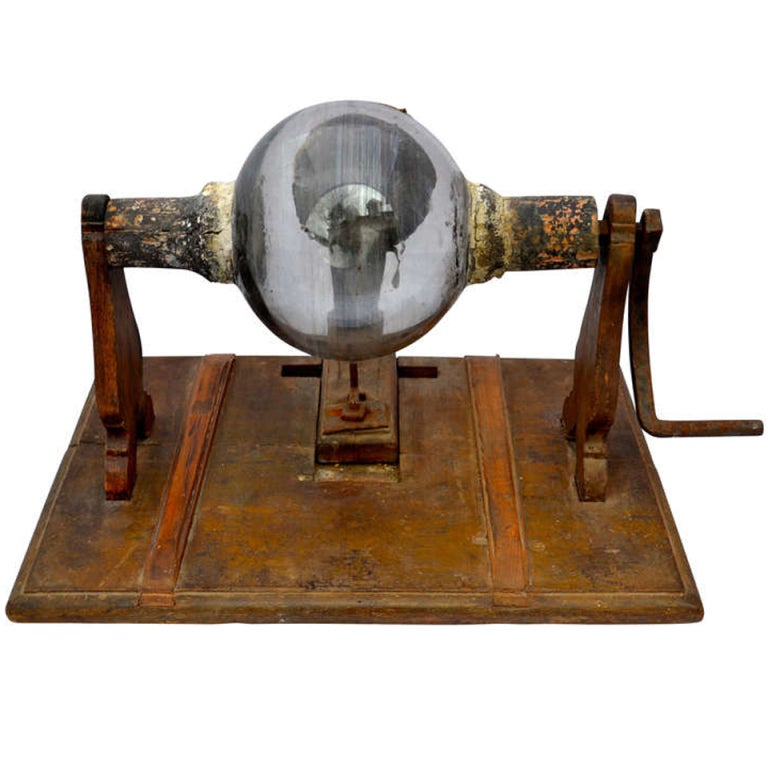Antique Science Instruments : Th c electrical machine