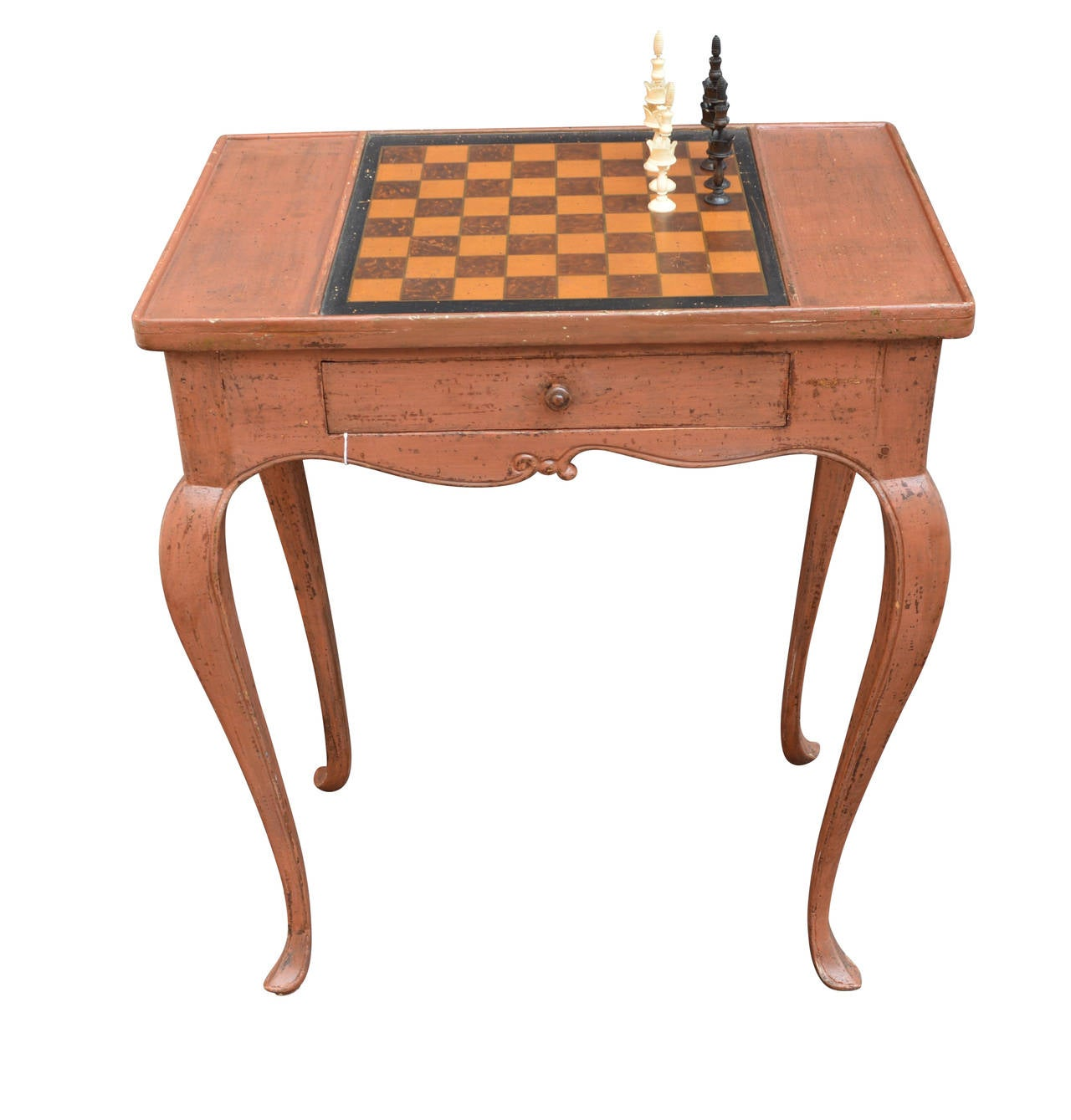 Danish Rococo Chess Game Table For Sale At 1stdibs