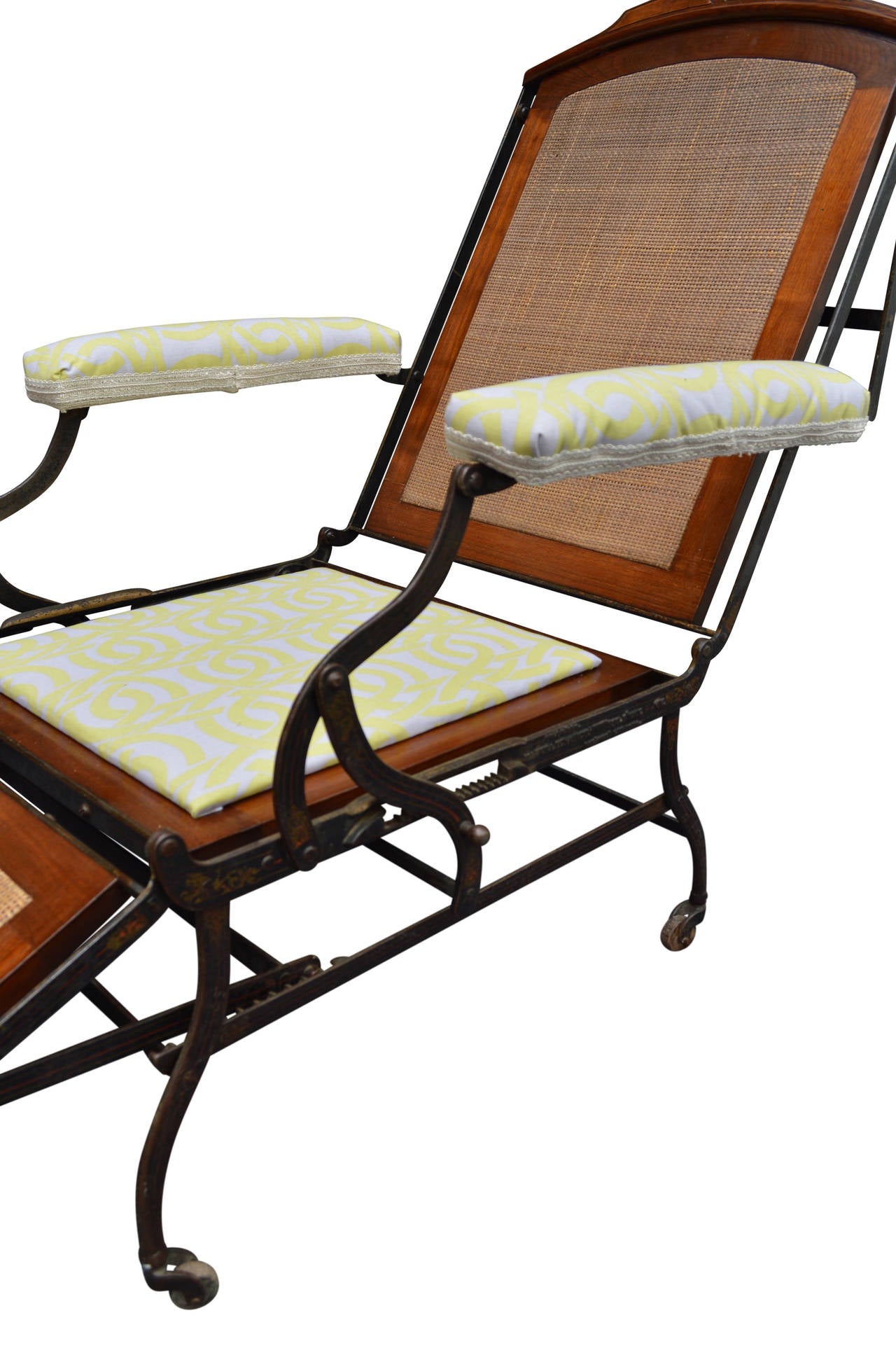 Adjustable Folding Campaign Chair For Sale at 1stdibs