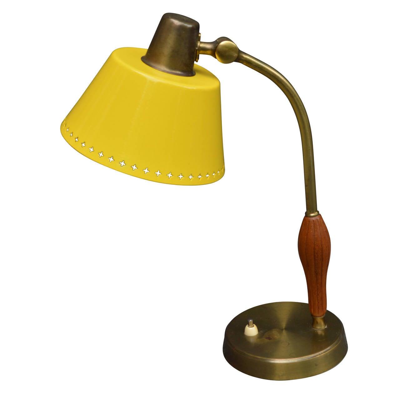 swedish mid century desk lamp for sale at 1stdibs. Black Bedroom Furniture Sets. Home Design Ideas