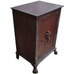Early 19th Century Medicine Safe Cabinet