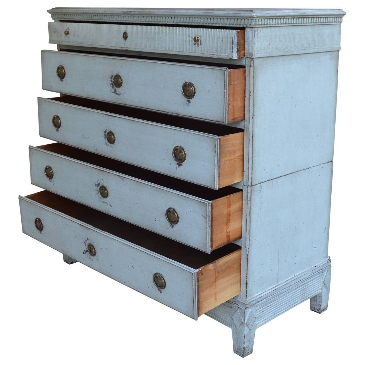 Swedish Gustavian Chest of Drawers For Sale