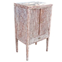 18th Century Gustavian Bedside Table