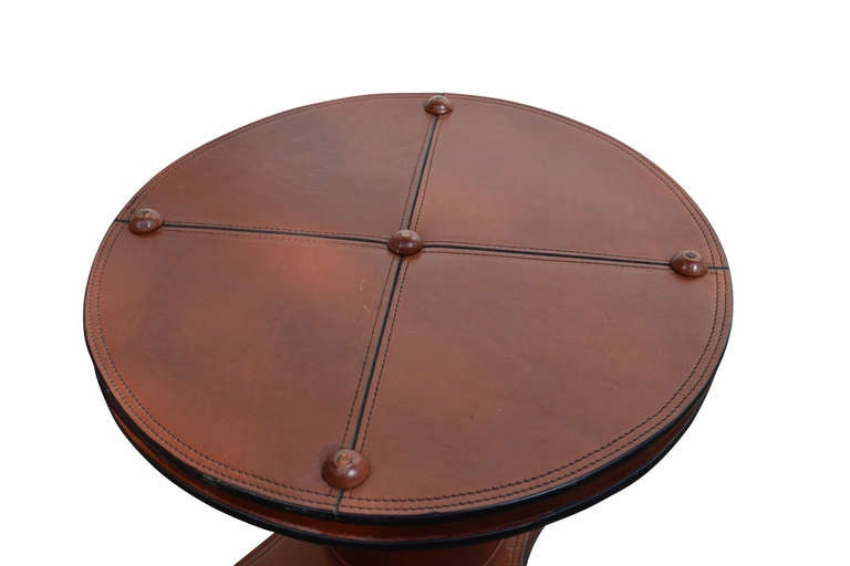Vintage Collection Of Hand Crafted Leather Furniture By