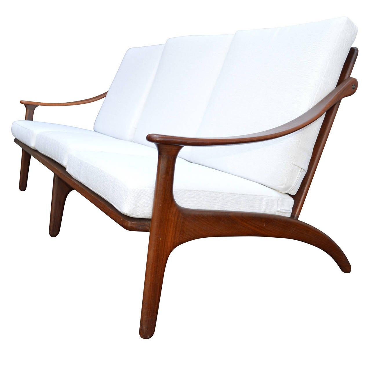 Mid-Century Sofa by Arne Hovmand Olesen