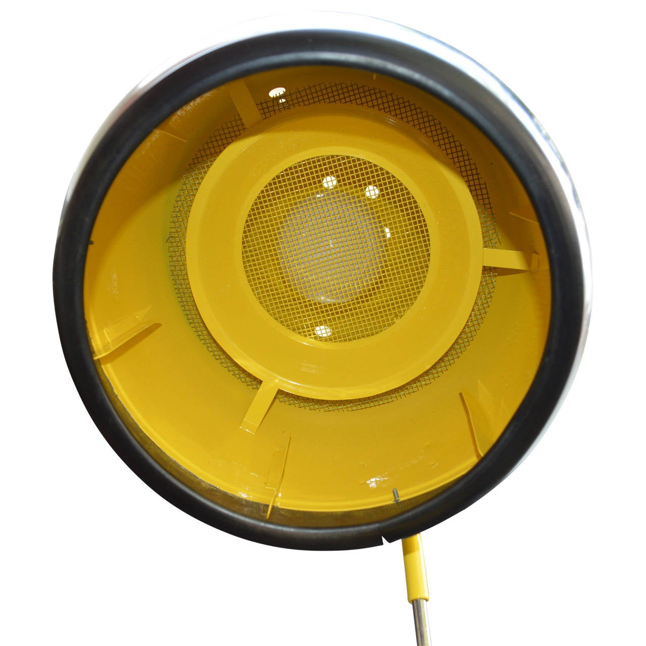 Yellow Floor Lamp Converted 60 S Hairdryer For Sale At