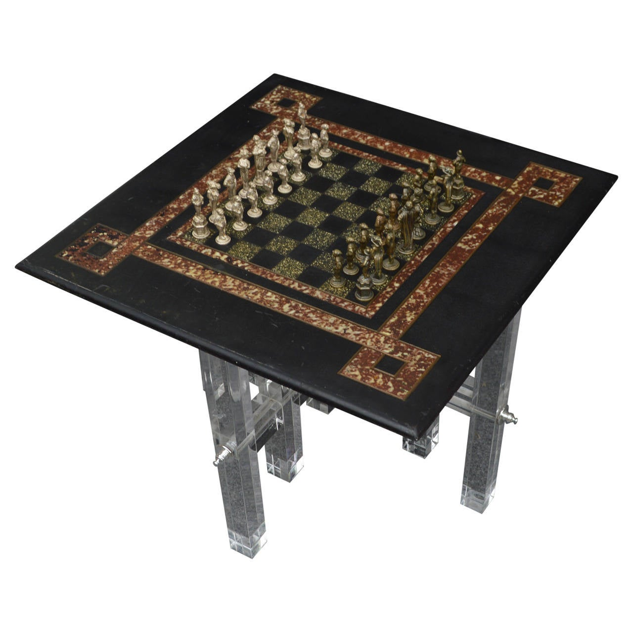 Small chess board side table for sale at 1stdibs for Small tables for sale