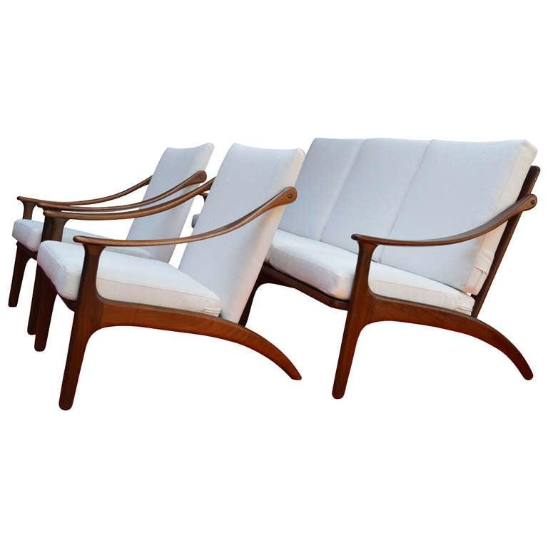 Mid-Century Sofa by Arne Hovmand Olesen 2