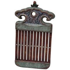 18th Century Danish Folk Art Tape Loom