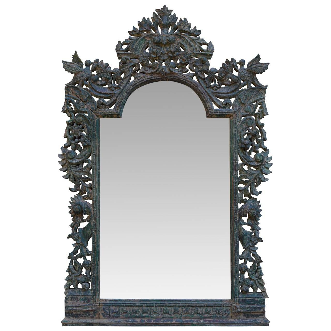 Mid 19th c baroque mirror at 1stdibs for Small baroque mirror