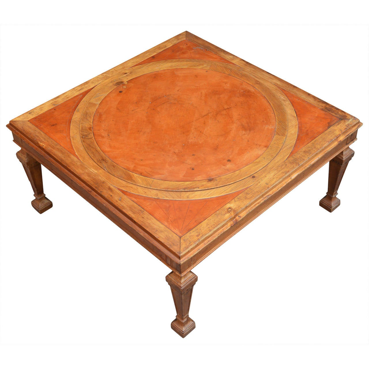 weiman lazy susan cocktail table at 1stdibs With weiman coffee table