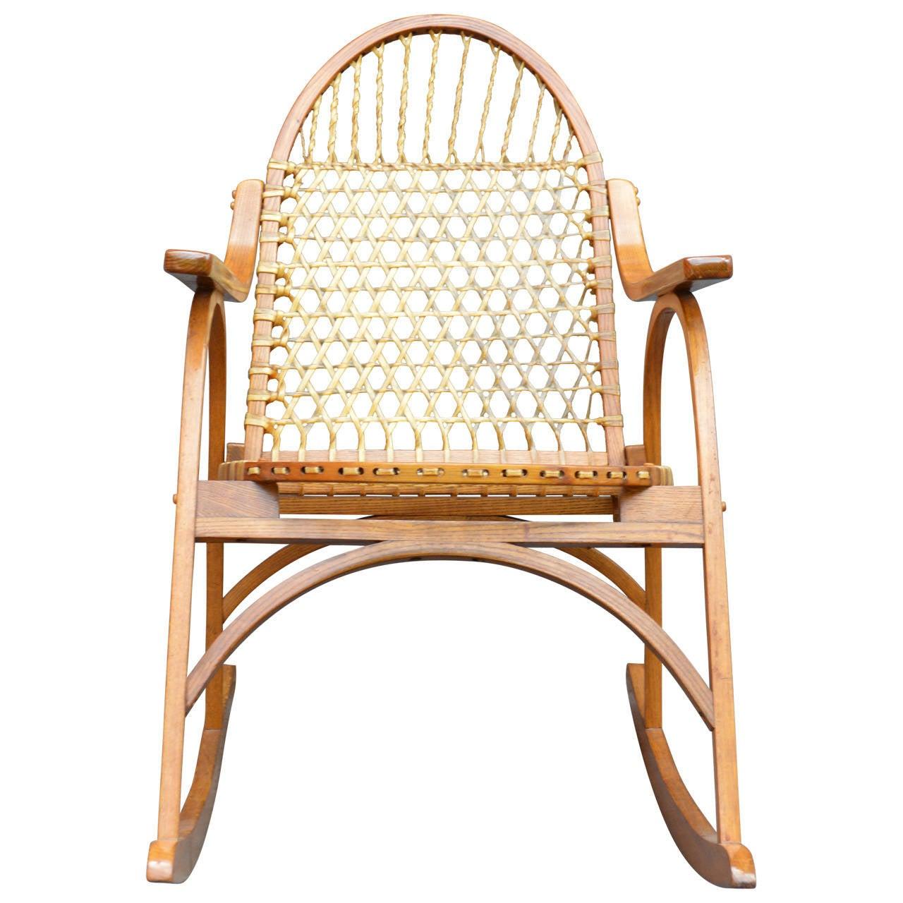 Tremendous Vermont Tubbs Snowshoe Rocking Chair Pabps2019 Chair Design Images Pabps2019Com